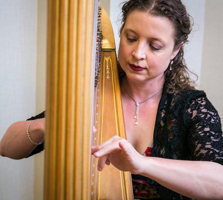 Harpist Allison Reed