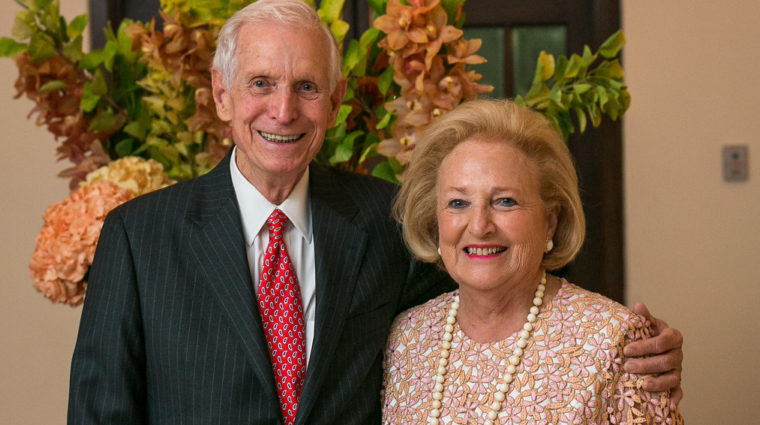 J. Davis Hamlin and Margot Perot