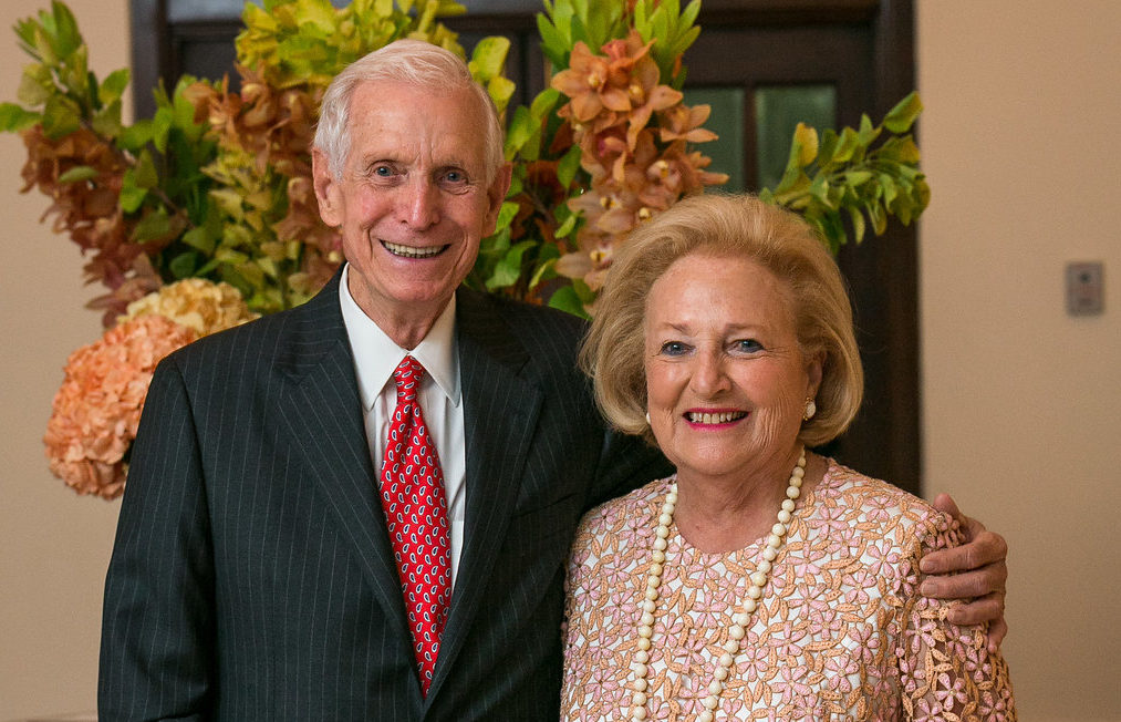J. Davis Hamlin and Margot Perot