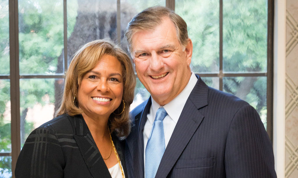 Community Leader Matrice Ellis-Kirk and Former Dallas Mayor Mike Rawlings