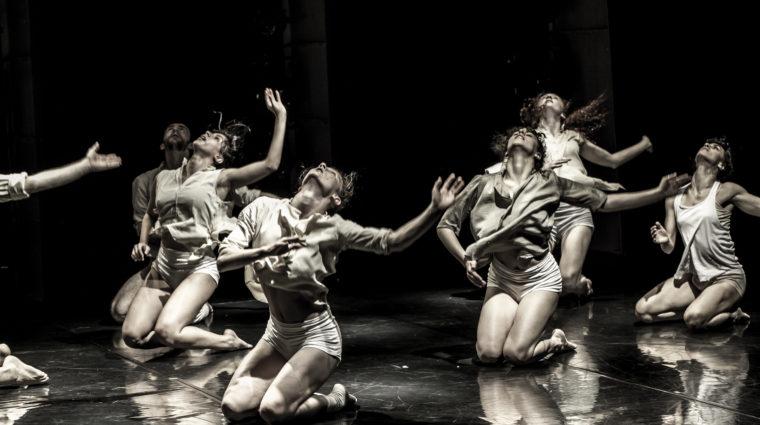 Dancers from Kibbutz Contemporary Dance Company